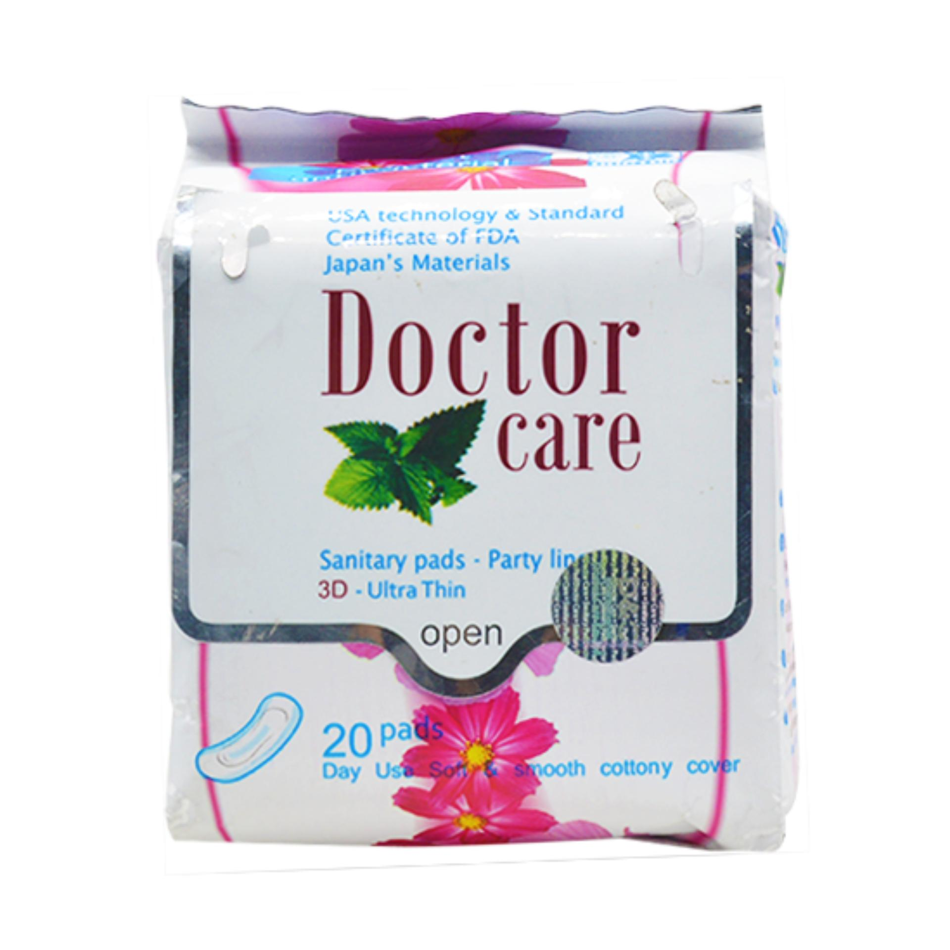 Chi tiết sản phẩm Băng vệ sinh thảo dược hàng ngày Doctorcare (20 miếng/gói)