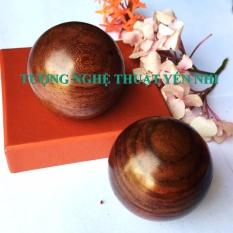 Bi gỗ lăn tay-Bảo kiện cầu gỗ Cẩm Lai 5cm