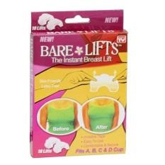 Bộ 10 miếng dán nâng ngực Bare Lifts (Trong suốt)(SKU-044)