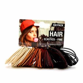 Bộ 100 Dây cột tóc UBL AH0085