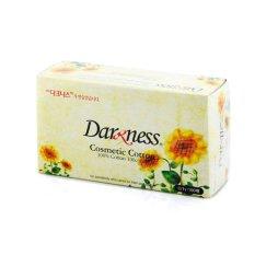 Bộ 100 miếng bông tẩy trang Darkness Cosmetic Cotton