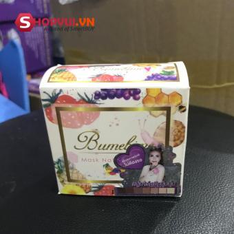 Bộ 2 bánh Xà bông tắm trắng Thái Lan -Bumebime Mask Natural Soap