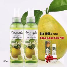 Bộ 2 Chai Xịt Tinh Dầu Bưởi Ngăn rụng tóc Pomelo giúp tóc dài và dày hơn 130ml