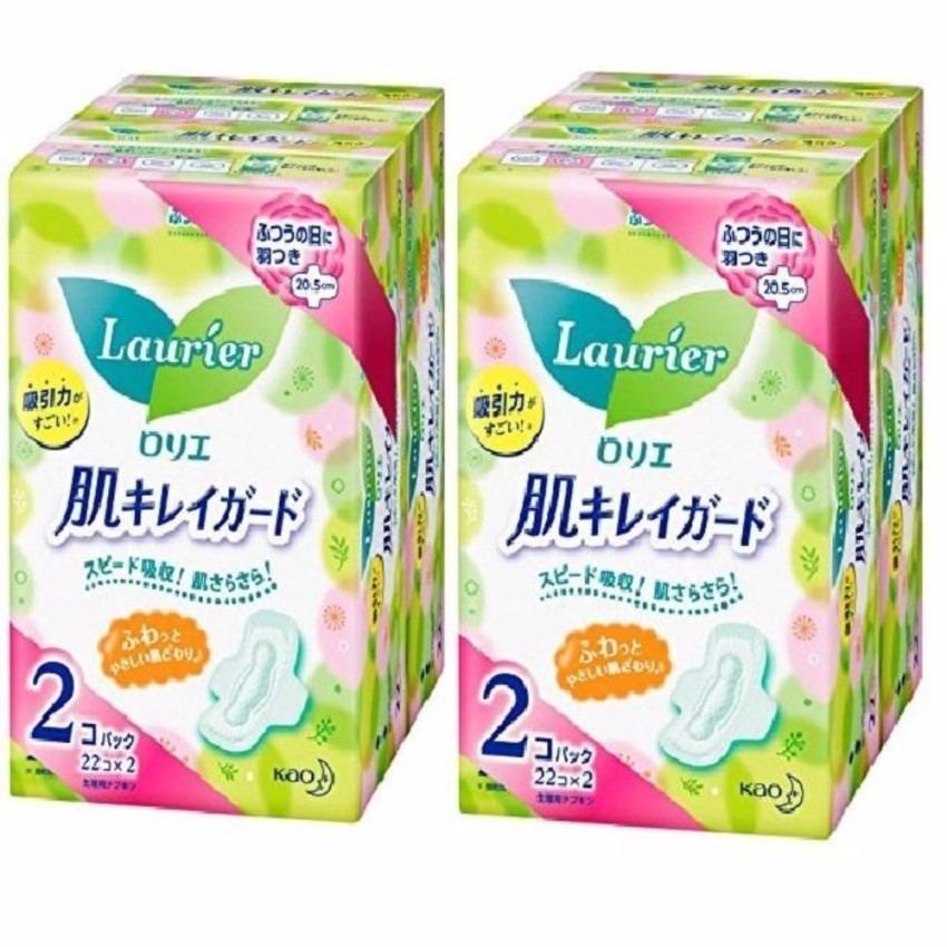 Giá Khuyến Mại Bộ 2 Gói 44 Miếng Băng Vệ Sinh Ngày Có Cánh Laurier – Nhật Bản