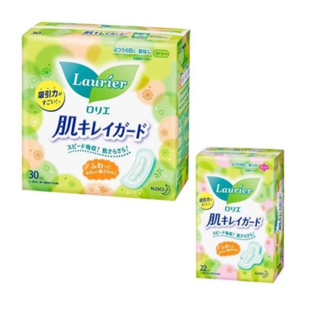 Chi tiết sản phẩm Bộ 2 gói băng vệ sinh ngày Laurier có cánh – Hàng nhập khẩu Nhật Bản