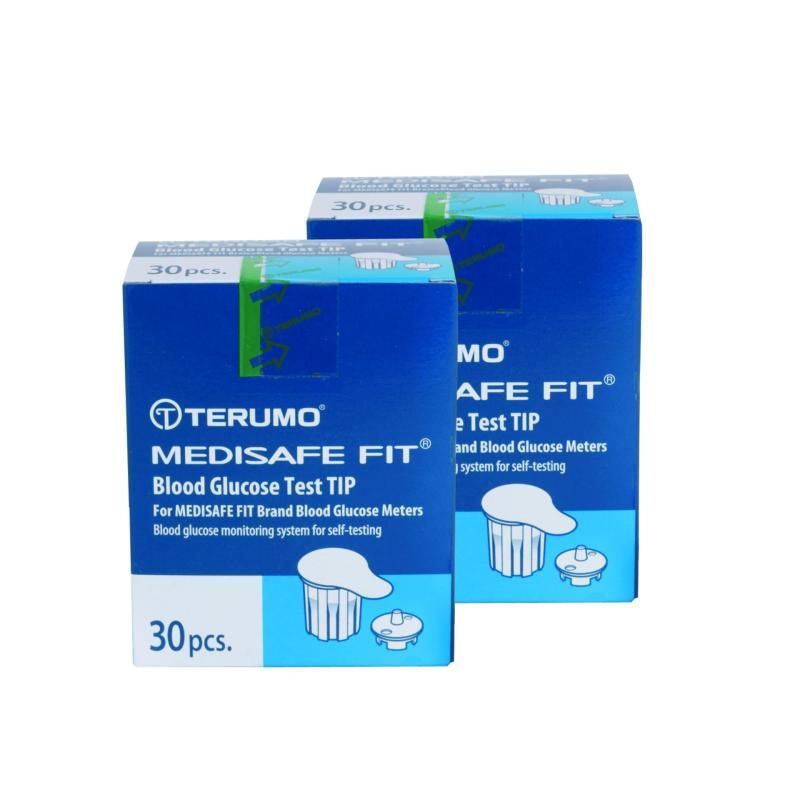 Nơi bán Bộ 2 hộp que thử đường huyết Terumo Medisafe Fit