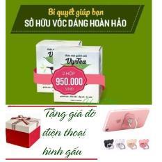 Bộ 2 Hộp Trà thảo mộc giảm cân Vy & Tea – 30 ngày – Tặng giá đỡ điện thoại
