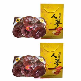 Bộ 2 Nấm linh chi Đỏ Thượng Hạng 1kg Nhập Khẩu Hàn Quốc