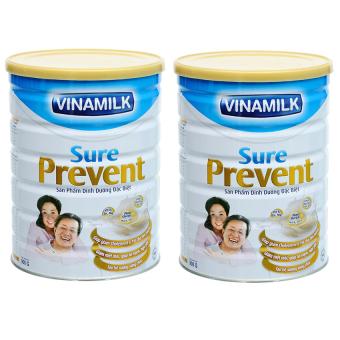 Bộ 2 Sữa bột Vinamilk Sure Prevent 900g