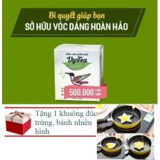 Bô 2 Trà Giảm Cân Tan Mỡ Vy Tea ( Liệu Trình 30 Ngày) HÀNG CHÍNH HÃNG + Tặng 1 Khuôn Đúc Trứng, làm bánh