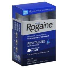 Bộ 3 chai Foam mọc tóc Nam Men's Rogaine Revitalizes Hair Follicles 60g x 3