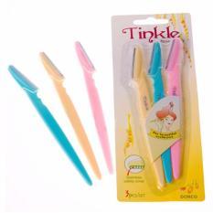 Bộ 3 Dao cạo lông mày Tinkle