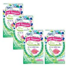 Giá Khuyến Mại Bộ 4 gói tampon Unicharm Sofy Soft