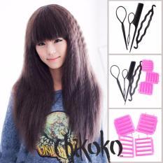 Bộ 4 món làm tóc đa năng+ 03 dụng cụ dập xù CHIKOKO đa năng