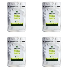 Bộ 4 túi bột Gelatinized Maca hữu cơ Hola Andina 200g