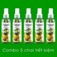 Bộ 5 chai xịt dưỡng tóc Cocoon Pomelo tinh dầu vỏ bưởi 130ml