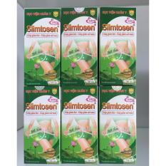 Bộ 6 Hộp Viên Uống Slimtosen Extra Học Viện Quân Y 100 Viên