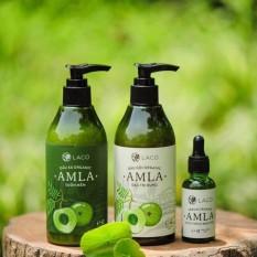 Bộ Dầu gội – Dầu xã – Serum trị rụng tóc kích thích mọc tóc – AMLA