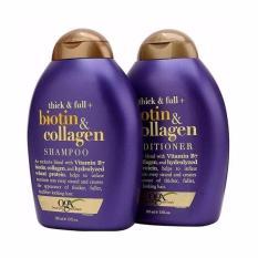 Bộ dầu gội và dầu xả Thick & Full – Biotin & Collagen – 385mlx2