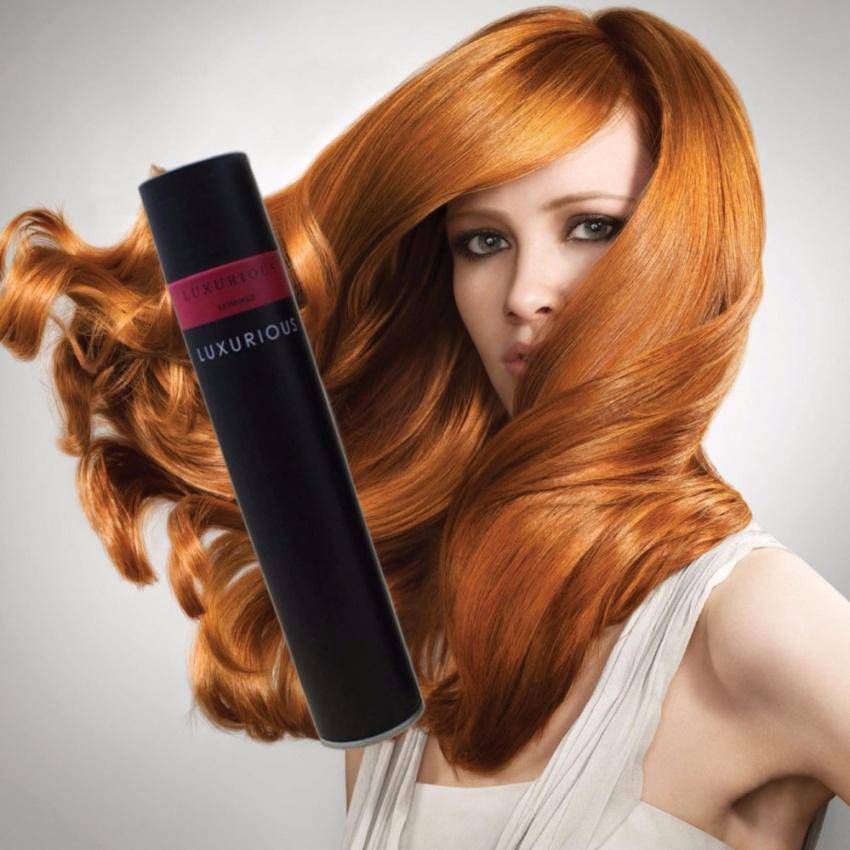 Bộ đôi gôm xịt tóc Luxurios 450ml và sáp vuốt tóc VS