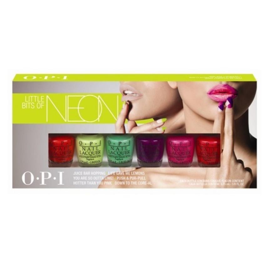 Bộ Mini Nail lacquers Little Bits Of Neon 3 75 ml x 6