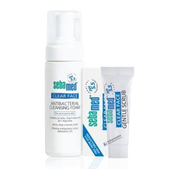 Bộ Sữa rửa mặt trị mụn cấp tốc Sebamed pH5.5