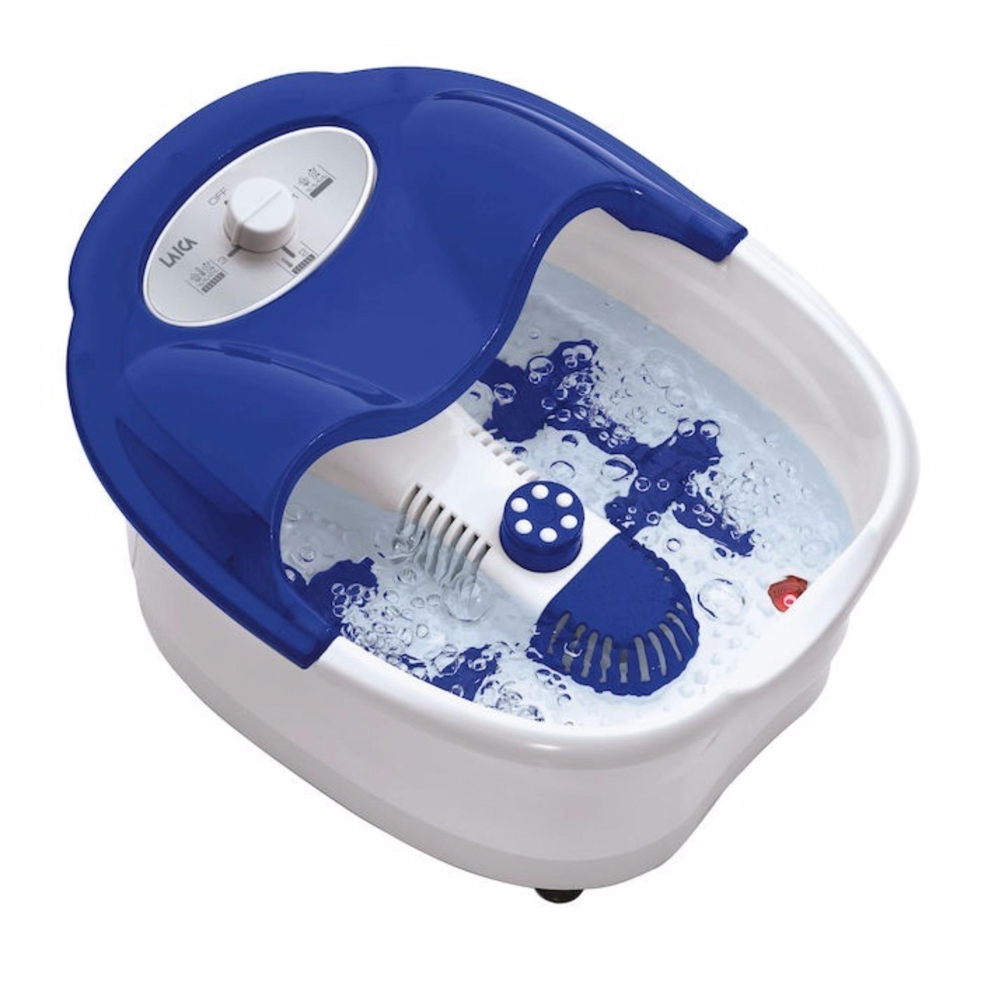 Bồn ngâm, mát-xa (massage) chân làm nóng nước nhập khẩu Italy Laica-PC1301