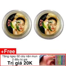 Giá KM Bột lột mụn tinh chất trà xanh matcha Thái tặng 1 que nặn mụn -COMBO 2