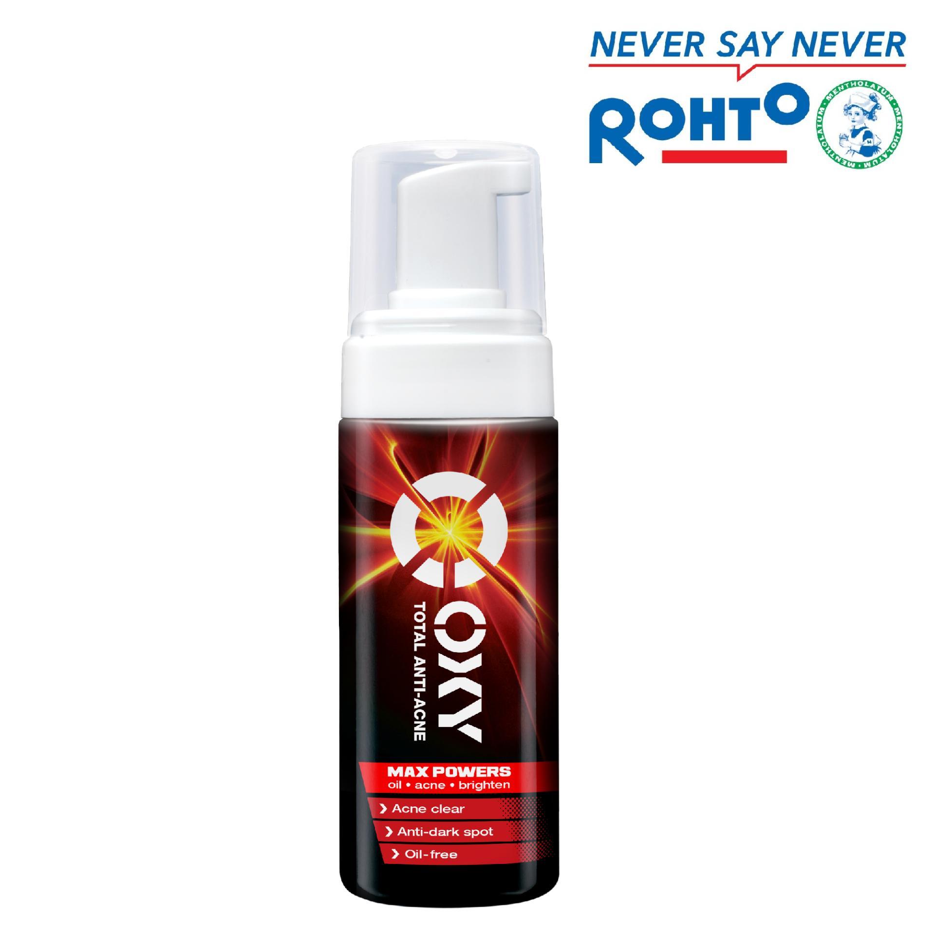 Giá KM Bọt rửa mặt ngăn ngừa mụn cho nam Oxy Total Anti Acne 130ml