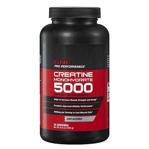 Giá bán Bột uống hỗ trợ tăng cơ bắp GNC Creatine Monohydrate 5000 250g