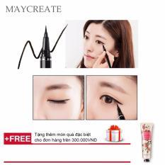 Nơi Bán Bút lông kẻ mắt Maycreate ( 0.6ml ) + Tặng tuýp kem dưỡng da tay hương thơm thiên nhiên ( mùi hương ngẫu nhiên )