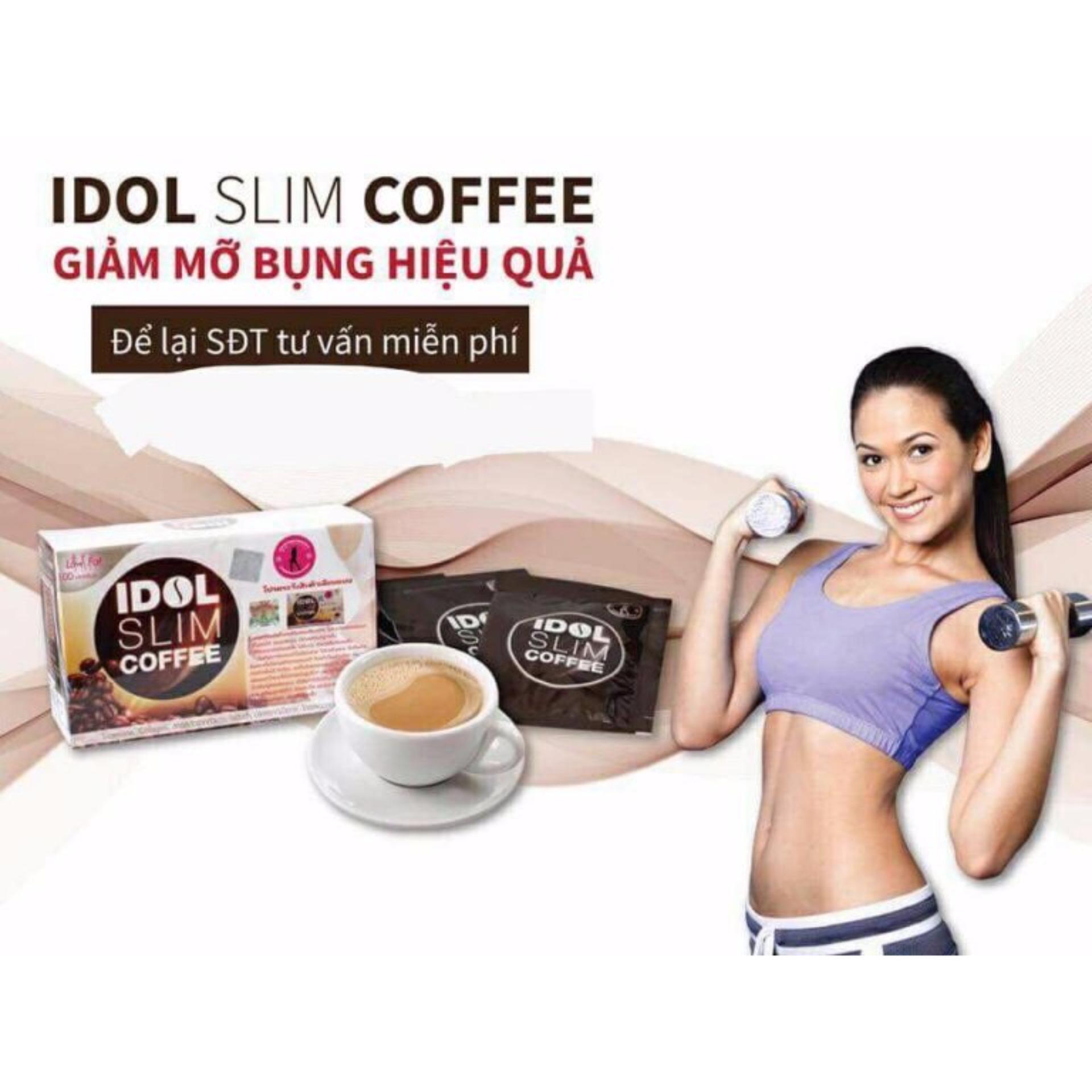 Cà Phê Giảm Cân Idol Slim Coffee - Thái Lan