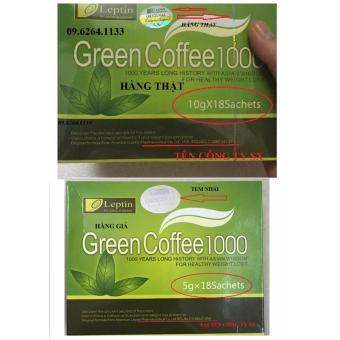 CÁCH PHÂN BIỆT TRÀ XANH GIẢM CÂN GREEN COFFE THẬT VÀ GIẢ