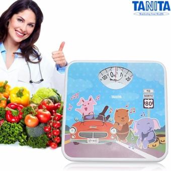 Cân Sức Khỏe Cơ Học 130kg/1kg hình Animal Girls