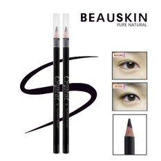 Chì kẻ mí mắt không trôi, không lem Beauskin Crystal Eyeliner Pencil (Đen)