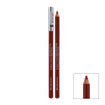Chì Kẻ Viền Môi Vacosi Lipliner Pencil No.7 - Red Brown