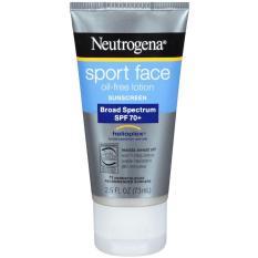 Chống nắng Neutrogena Sport face Broad Spectrum SPF 70+ 73ml của Mỹ