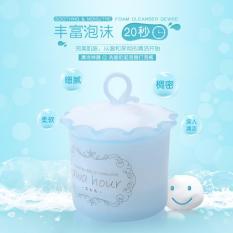 Cốc đánh bọt sữa rửa mặt CX01 Xanh