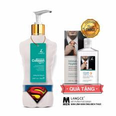 Collagen Trắng Da Toàn Thân 7 Ngày 250g TẶNG Gel Vệ Sinh 100ml LANGCE dành cho nam