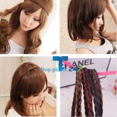 Combo 02 băng đô tóc tết cho bạn gái (Đen+ Ca phê)