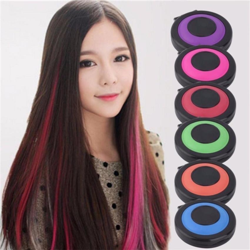 Combo 2 bộ Phấn nhuộm tóc dạng hộp trang điểm 6 màu Chodeal24h