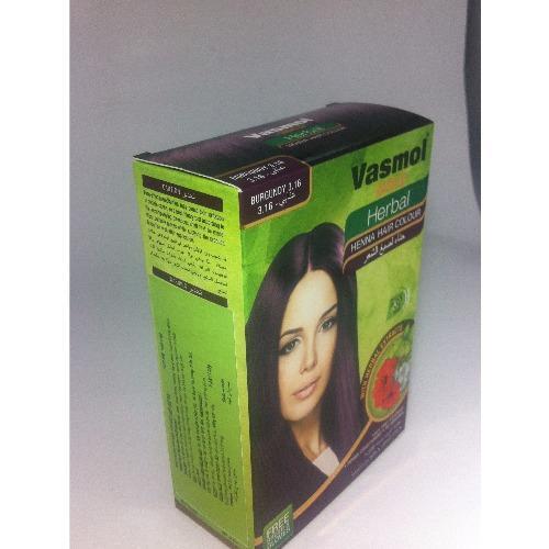 Nơi Bán Combo 2 hộp nhuộm tóc bạc Vasmol Henna (Đỏ tía)