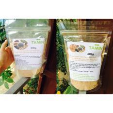Mẫu sản phẩm Combo 2 túi 1kg Bột 5 loại Đậu nguyên chất và 1kg Bột đậu ngũ cốc nguyên chất vị Socola Tăng Cân TAMIN + TẶNG KÈM MUỖNG MÚC BỘT ĐẬU