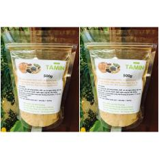 Combo 2kg Bột ngũ cốc nguyên chất vị Socola tăng cân ( 5 loại Bột đậu + bột cacao) TAMIN + TẶNG 1 THANH SOCOLA SỮA TĂNG CÂN 100GRAM