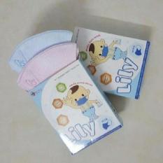 Combo 3 hộp khẩu trang giấy y tế cho trẻ em LiLy từ 1-5 tuổi (30 cái)