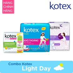 Combo Kotex Light Day