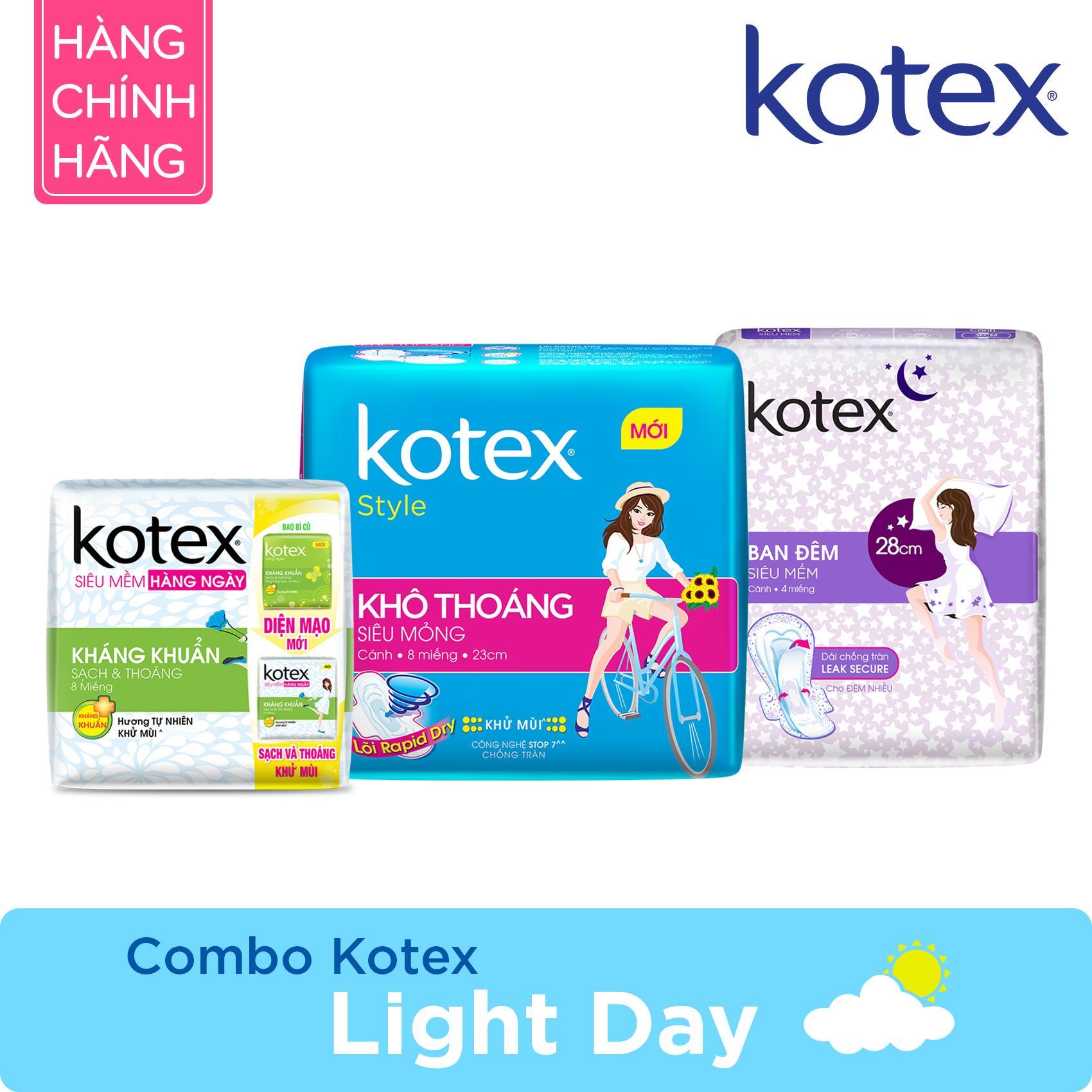 Combo Kotex Light Day