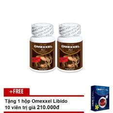 Combo Viên Uống Tăng Cường Sinh Lý Nam Giới Omexxel Ali (Lọ 30 Viên) + Tặng 1 hộp Omexxel (10 Viên)