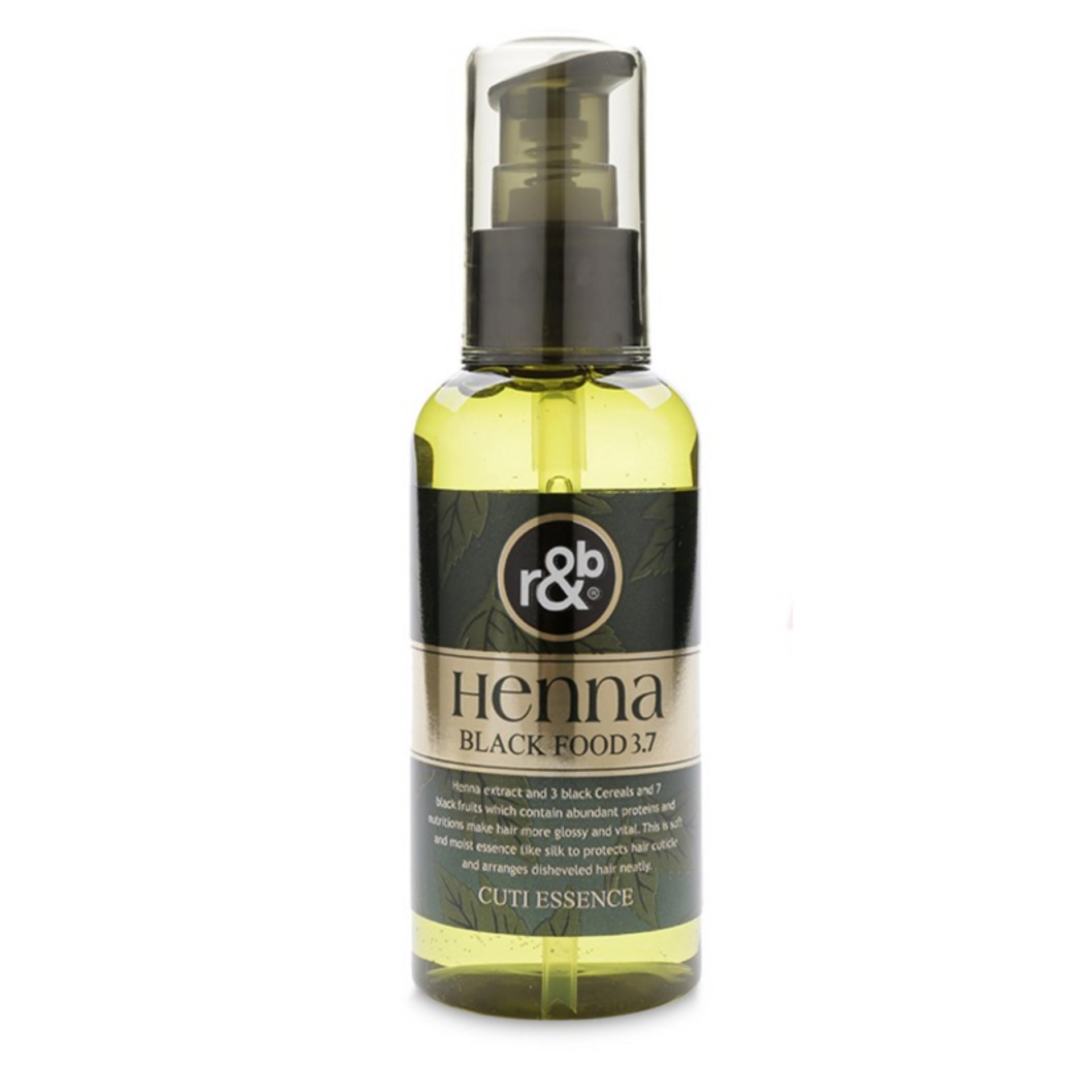 Dầu bóng tóc dinh dưỡng R&B Henna Black Food 3.7 100ml
