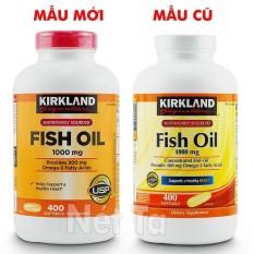 Dầu cá 1000mg Kirkland Signature hộp 400 viên – Mỹ – Cung cấp 300 mg Omega-3 cho trái tim khỏe mạnh